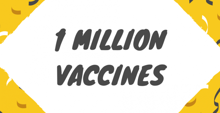 1 million Covid vaccines in Kent