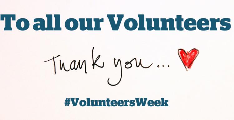 we love our volunteers
