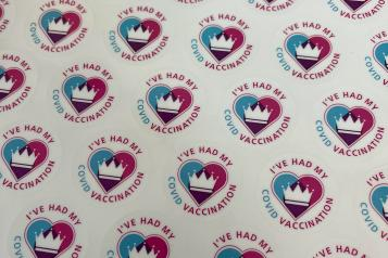 mass vaccination centre opens in Folkestone