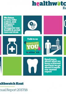 Healthwatch Kent annual report